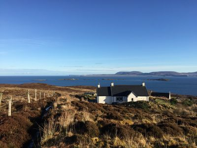 Photo for Fantastic Holiday Cottage on the stunning Waternish Peninsula - Fab Sea Views