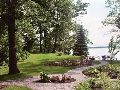 Photo for Gull Lake - Charming Getaway with Panoramic View, Beach.