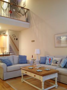 Photo for 3 BR 2 CAR GARAGE SPACIOUS TOWNHOUSE-  STEPS TO THE BEACH/BOARDWALK W/OCEAN VIEW