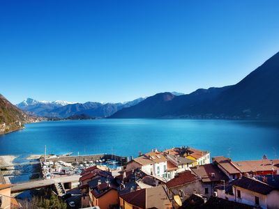 Photo for Modern Lake View Apartment In Argegno with breathtaking views