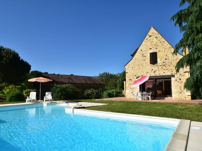 Photo for Vintage Holiday Home in Orliac with Private Pool