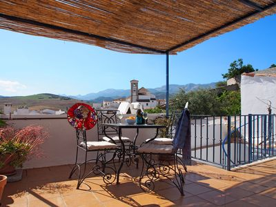 Photo for Sunny apartment in Andalucia with spectacular roof terrace.