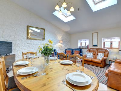 Photo for Comfortable single-storey accommodation for two families or extended family, in a group setting on t