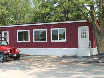 Photo for 2 bedroom 1 bath modular  with boat parking Close to Port Clinton attractions