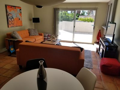 Photo for 2 Level Palm Springs Condo - Fully Furnished, walk to downtown!