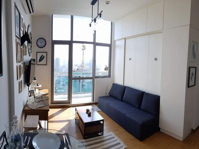 Photo for 1BR Apartment Vacation Rental in Mandaluyong
