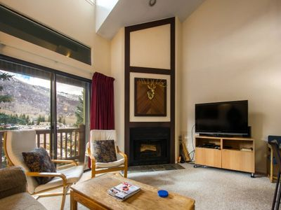 Photo for *FREE SKI RENTAL* No Car Needed -5 Min Walk to Skiing! Top Floor - Vaulted Ceilings & Mountain Views