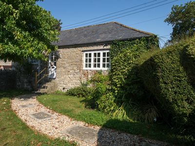 Photo for Old Stone Gardeners Cottage in Somerset with peaceful secluded garden