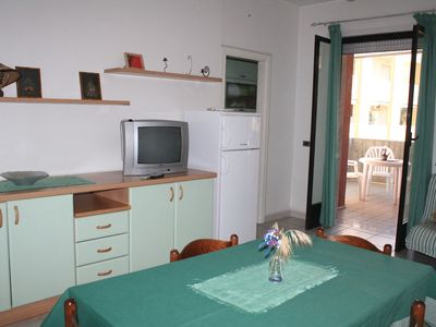 Photo for Cosy Holiday Apartment Trilocale Sissy sul mare with Air Conditioning & Balcony; Parking Available, Pets Allowed