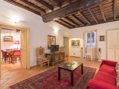 Photo for 2 bedroom Apartment, sleeps 6 in Rome with Air Con and WiFi