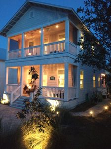 Photo for New bungalow on 30a in Blue Mountain Beach - Discount Golf Cart Available!