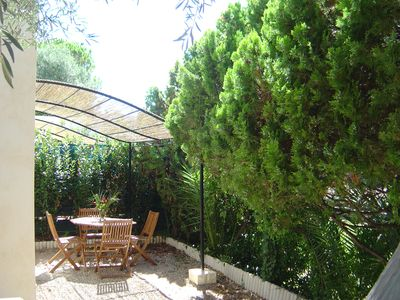 Photo for New ad - Superb bright duplex with garden in Antibes, Provence Azur.