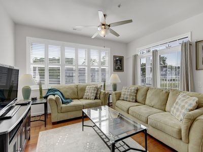 Photo for Ulster Drive, Elegant condo at the beach. 2 Pools, 2 fitness centers and clubhouses. Tennis courts. Bike to beach. 3 bed 2 bath. Sleeps 6.