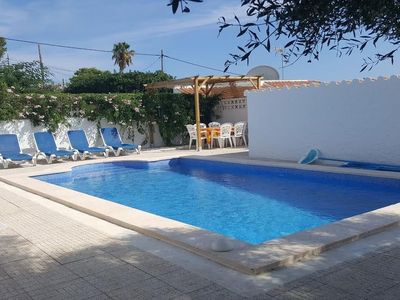 Photo for Cozy villa in the southern coast of Menorca