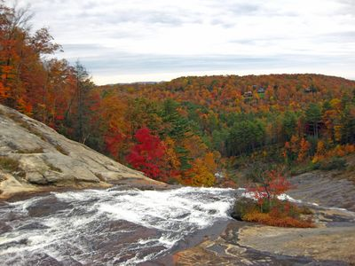Photo for Mountain Condo with Spectacular View of Toxaway Falls