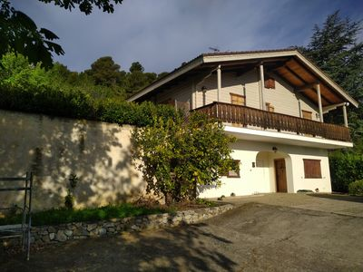 Photo for Fantastic house with private swimming pool at 5 km from the sea