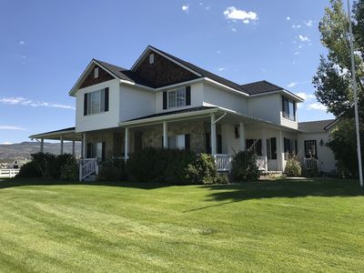 Photo for A Spacious Ranch House in Beautiful Heber Valley, close to Park City