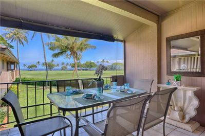 Ocean VIew Dining On Your Lanai