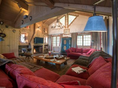 Photo for Courchevel 1850 - Spacious and generous chalet !!