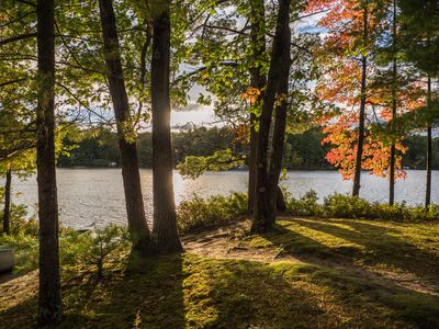 Photo for Quiet and Peaceful 3 Bedroom Family Cottage on Lake George, 12 Miles to TC