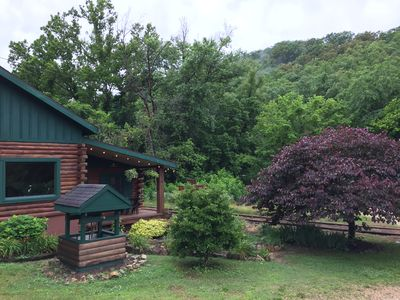 Photo for Beautiful Log Cabin, Close to Historic Downtown