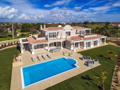 Photo for Villa Pinta - Magnificent newly built 5 bedroom property with stunning golf and country views!