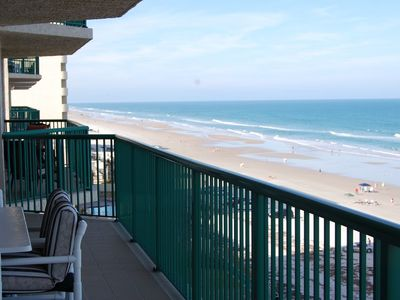 Photo for Direct Oceanfront Luxury Condo with 2 Oceanfront Master Suites