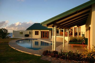 Bularangi Villa at Sunrise