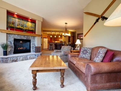 Photo for Top floor home w/ stunning views, shared pool, hot tubs, restaurants, & shuttle