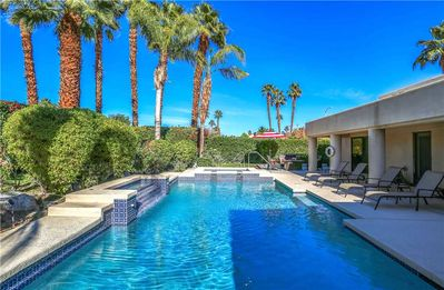 Photo for Relax by the pool and soak up the Palm Desert sunshine!