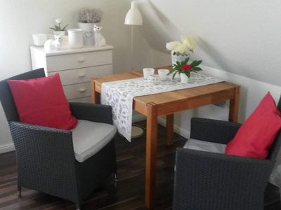 Photo for Double room, stylishly furnished in Schleinähe - Stylish and comfortable living in Schleinähe