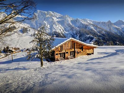 Photo for Open the door to the piste at this unique Alpine apartment - OVO Network