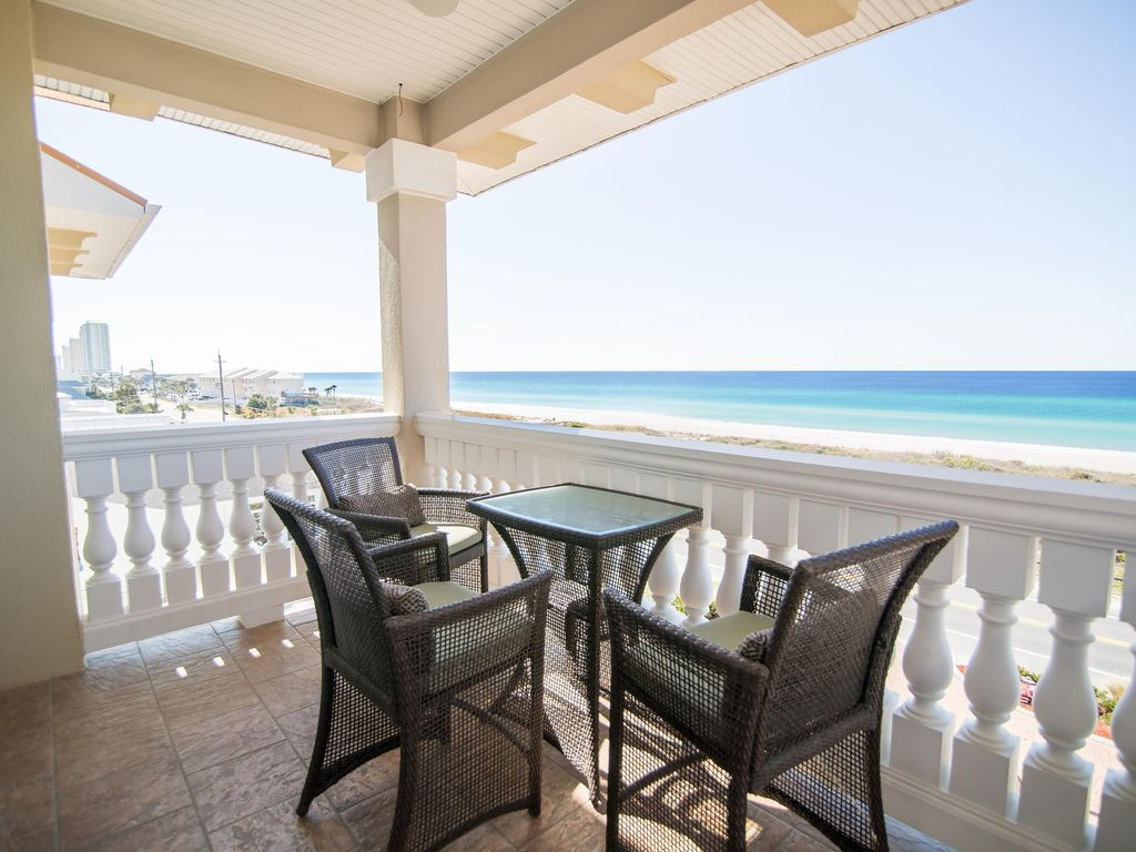 High Dune 5 Bedroom Home Private Pool Hot Tub West End Elevator Panama City Beach Florida