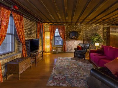 Photo for Rare River Street w/Balcony, Historic, Luxury, Affordable, 2/2, Loft STVR00088