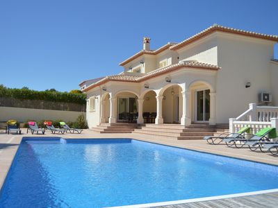 Photo for Villa with large private pool and air conditioning in all bedrooms and lounge