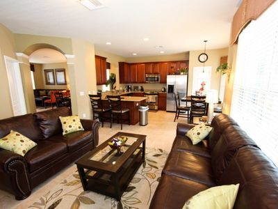 Photo for Disney On Budget - Windsor Hills Resort - Feature Packed Contemporary 6 Beds 4 Baths Townhome - 3 Miles To Disney