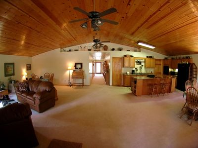 Photo for Pinetop-Lakeside AZ Luxury Vacation Rental Mountain Cabin style property