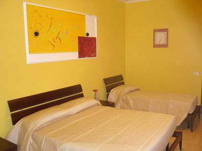 Photo for Rome Holiday Lux is a cozy apartment in the heart of the Eternal City