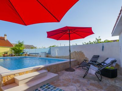 Photo for ctks278- Beautiful house with pool and sea view, 5+2 persons