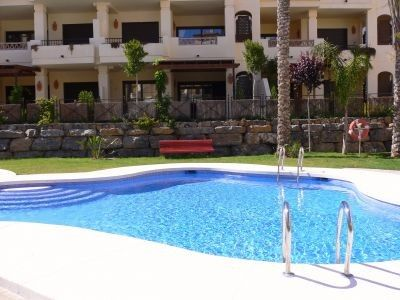 Photo for Altea holiday apartment in 5* grounds on Villa Gadea Residence with WIFI & Pool