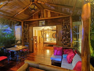 Photo for Ocho Artisan Bungalow in  Playa Tamarindo  - we are located right on the beach