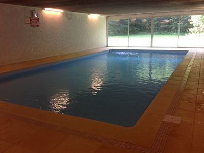 Photo for App couv pool / heated / garden / Telecab 100m / 200m base / leisure / Garage and Parkin