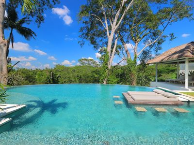 Photo for Secluded Jungle Villa, 4 BR, Ubud w/ staff