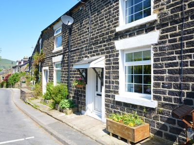 Ideally located on the edge of the village