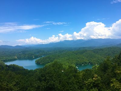 Photo for Fontana Lake Estates Dream Home, Sunsets Included! Motorcyle Friendly