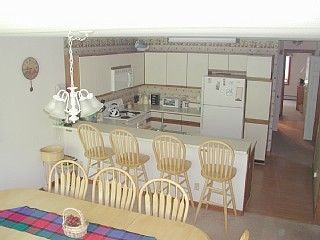 Fully updated kitchen seats 14 service for 20 plus. On center (main) level
