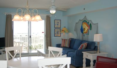 Photo for Don't wait for the elevator! Convenient, Ground Floor, Beachfront Condo