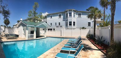 Photo for 4 BR Beautiful Southern Style Home w/ Private Large Pool (Heat Opt) - North End