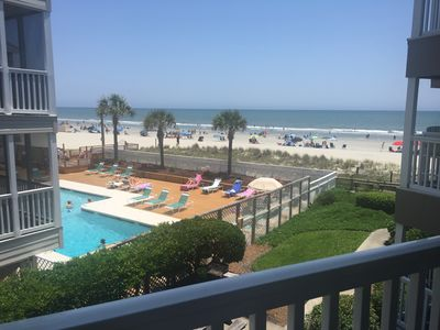 Photo for RIGHT ON THE BEACH! GREAT OCEAN VIEW! BEAUTIFUL! CLEAN & REMODELED! MUST SEE!