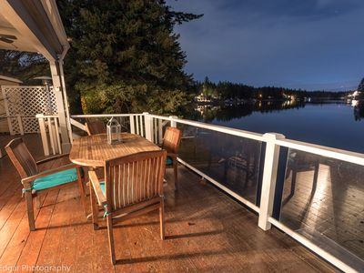 Photo for Charming Lake House - Secluded yet close to town